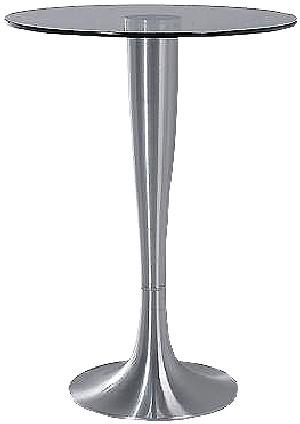 "Stehtisch - Glas - Aluminium - 72955 ""Grande"""