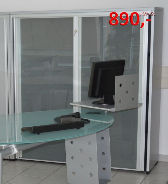 Isotta - Design Doppelschrank - Glasfront - Ultom