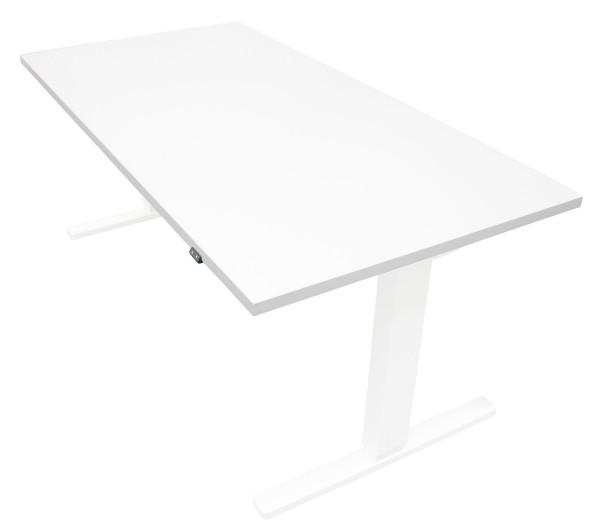 Tischplatte weiß - 1600 x 800 x 28 mm - passend zu den Untergestellen weiß, silber, schwarz