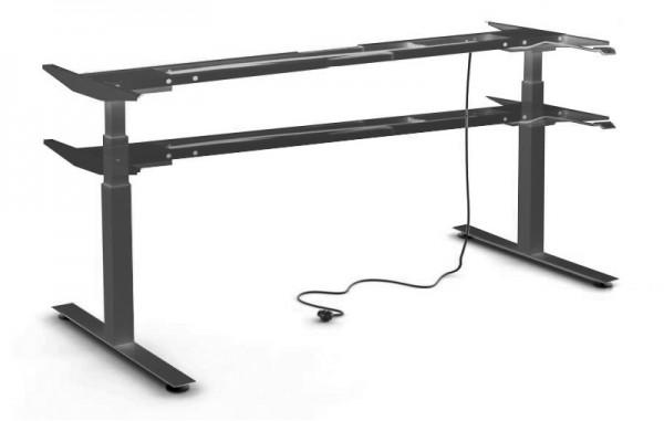 Untergestell 160 cm, elektrisch höhenverstellbar - Heyne-Ergo-Aktiv - schwarz