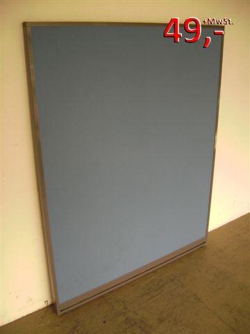 Trennwand - 130 x 120 cm - blau
