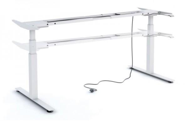 Untergestell 160 cm, elektr. höhenverstellbar - Heyne-Ergo-Aktiv - Gestell: weiß