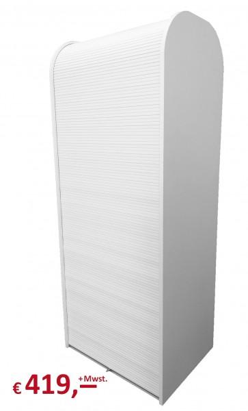 Garderobenschrank mit Rollladen - weiß - abschließbar - Neuware - verpackt - sehr hochw. Rollladen