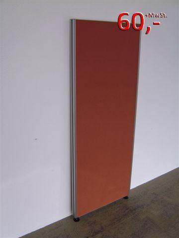 Trennwand / Funktionswand - 155 x 60 cm, Terracotta - VS