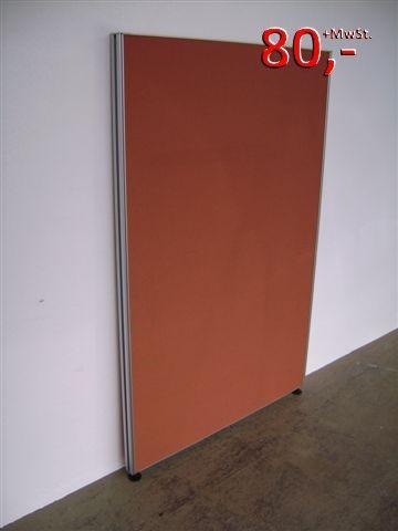 Trennwand / Funktionswand - 155 x 100 cm, Terracotta - VS