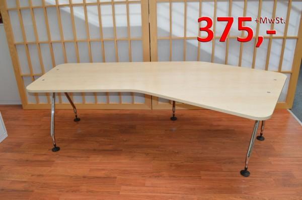 Freiform-Schreibtisch - 233 cm - Ahorn - Vitra