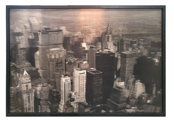 Kare Design - Bild Skyline 3D - 67 x 47 cm