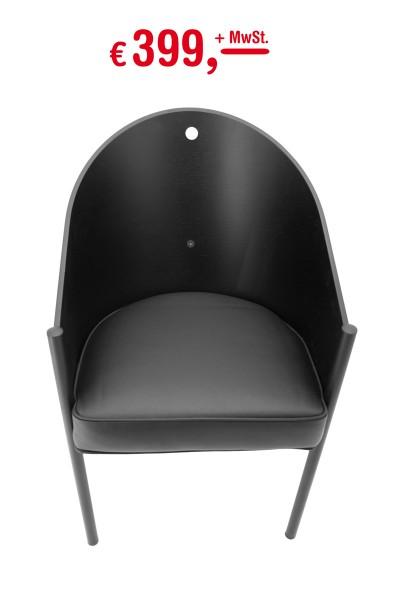 Driade - Costes Stuhl - Designer: Philippe Starck - Armlehnenstuhl - Dreibeiner