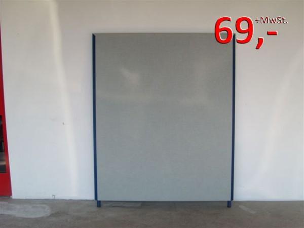 Trennwände 140 x 160 cm - grau/blau - Preform