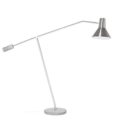 Kare Design - Stehleuchte SL Straight - Stein/Gips/Metall - 1-flammig