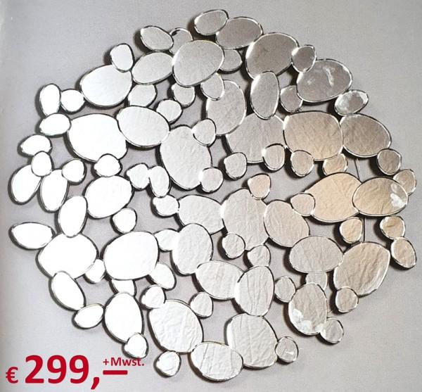 Kare Design - Spiegel - Water Drops - Wandmontage - 120 cm