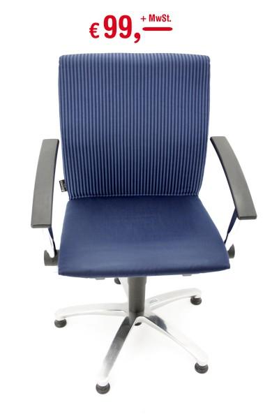 Grammer - Move - Bürostuhl - feste Armlehnen - Sitzhöhe und Sitztiefe verstellbar