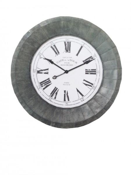 Kare Design - Wanduhr Paris Iron - 117 x 117 x 12 cm - Wandhalterung