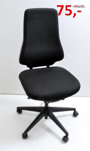 Drehstuhl - schwarz - Interstuhl