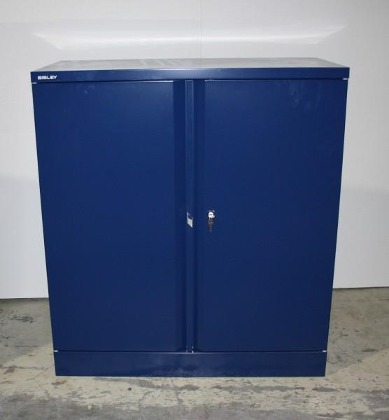 Bisley - Aktenschrank - blau - Metall - abschließbar