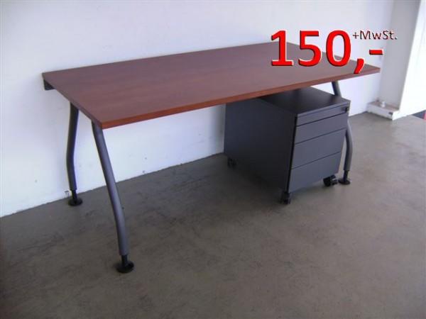 Schreibtisch 160 cm - Kirschbaum - Werndl