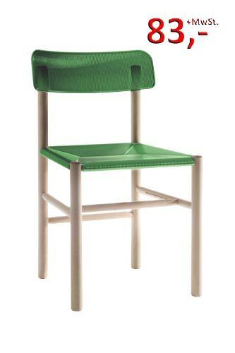 Trattoria Stuhl - grün, 2480 TR - Magis