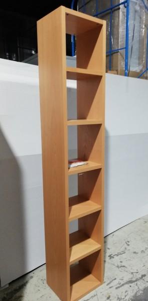 TAGUS - Regal hoch - Buche - 6OH - 40 cm breit - Tema