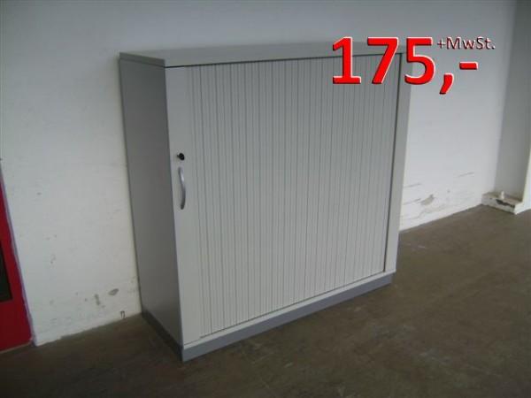 Querrollladenschrank - 3 OH, 120 cm - lichtgrau - Fortschritt
