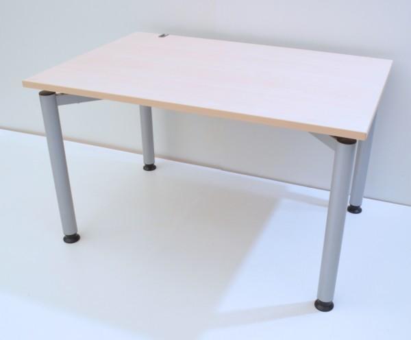 Schreibtisch - 120 cm, höhenverstellbar - Ahorn - Kinnarps
