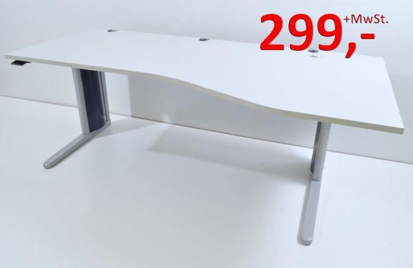 Schreibtisch 200 cm - höhenverstellbar - König + Neurath