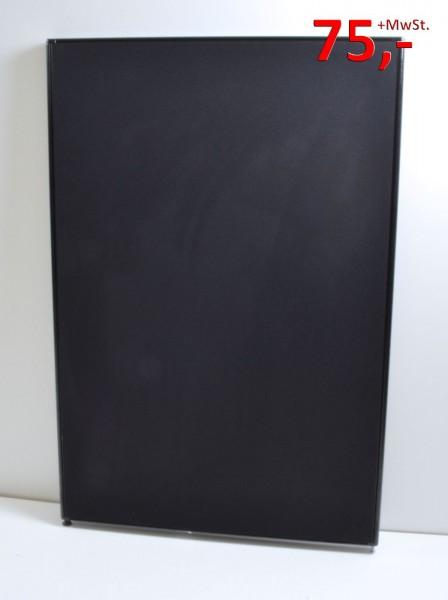 Trennwand / Funktionswand - 150 x 100 cm, schwarz - Werndl