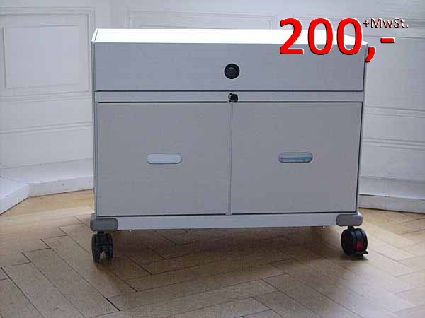 Vitra - Rollcontainer, Trolley Pick up der Spitzenklasse, weiß