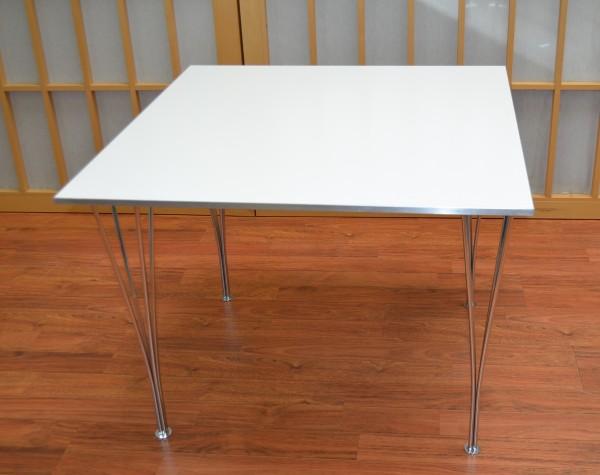 Piet Hein Tisch - 90 cm - weiß - Fritz Hansen
