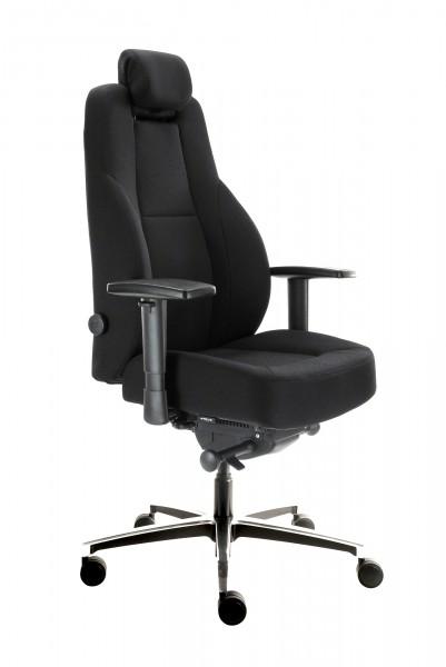 Chairsupply - Bürostuhl B1 - In Höhe und Tiefe verstellbare Kopfstütze