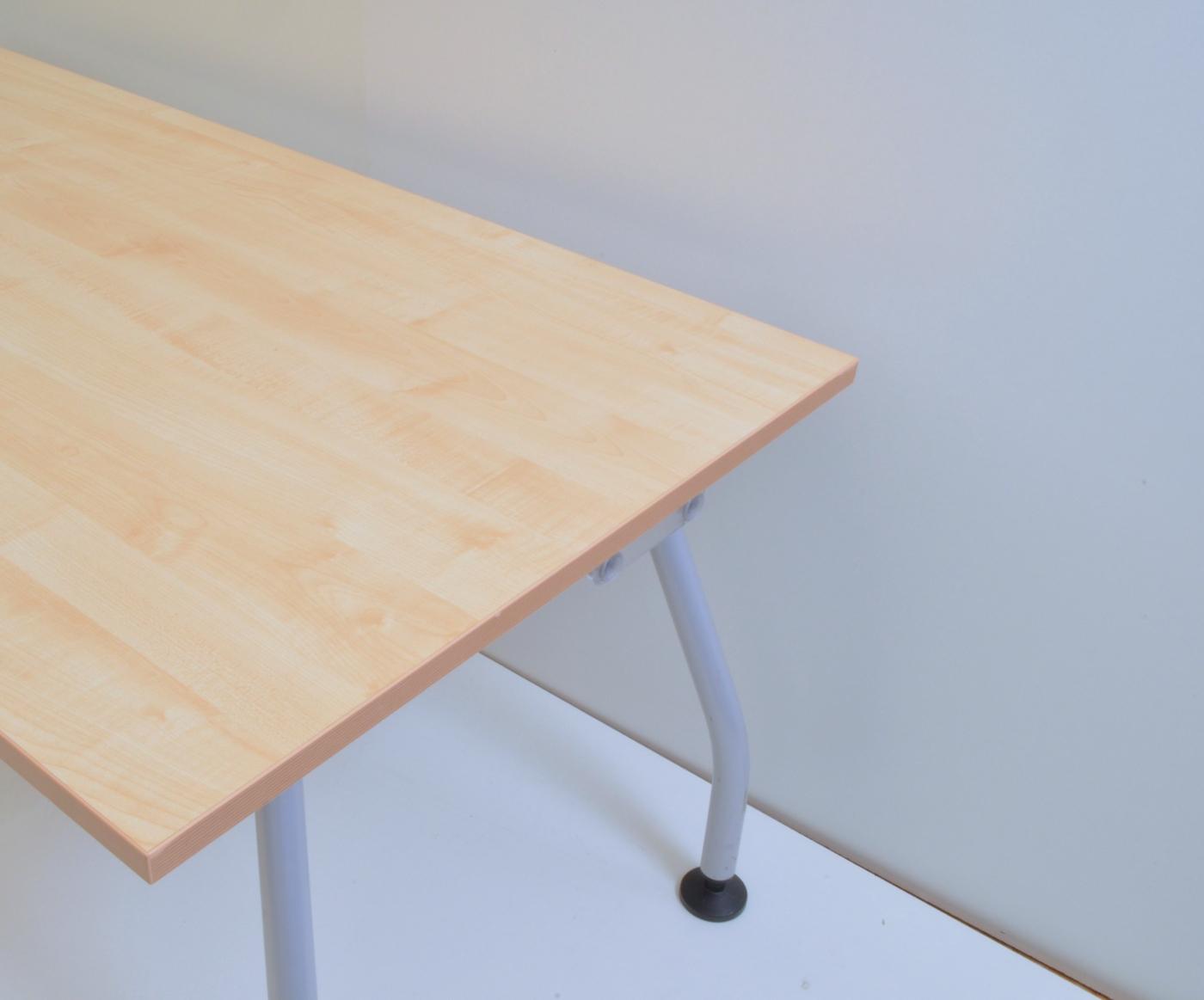 Schreibtisch 150 cm ahorn werndl b rom bel outlet for Schreibtisch 150