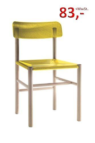 Trattoria Stuhl - gelb, 2495 TR - Magis