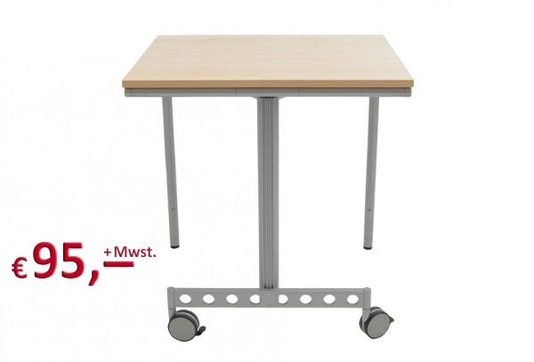 Schreibtisch - Schulungstisch - klappbar - Farbe Ahorn - wie neu