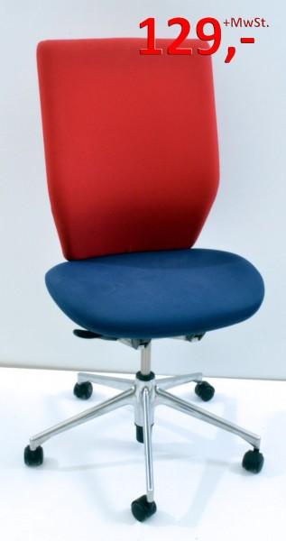 Bürostuhl - rot/blau - Vitra
