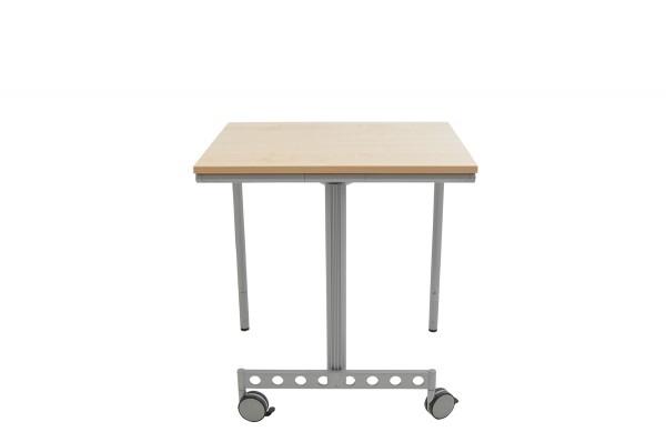 Schreibtisch, Schulungstisch, klappbar, Farbe Ahorn