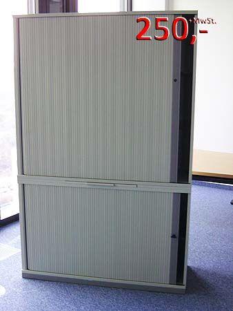 Querrolladenschrank 5 OH (2+3) - Office-grau - Werndl