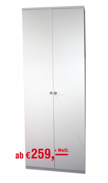 Aktenschrank - 6 OH - weiß - Heyne