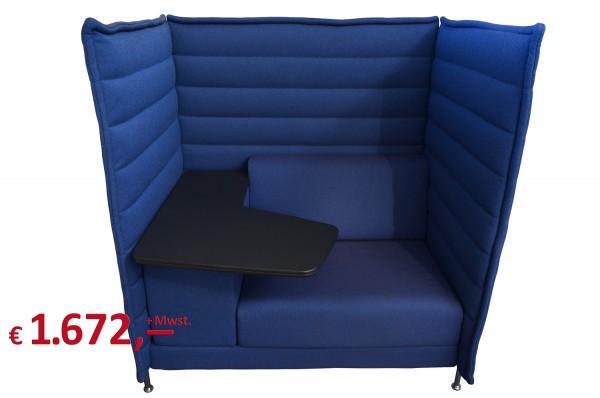 Verkauft! - Vitra - Alcove Highback Work - Rücken- und Seitenpaneele für akustische Abschirmung