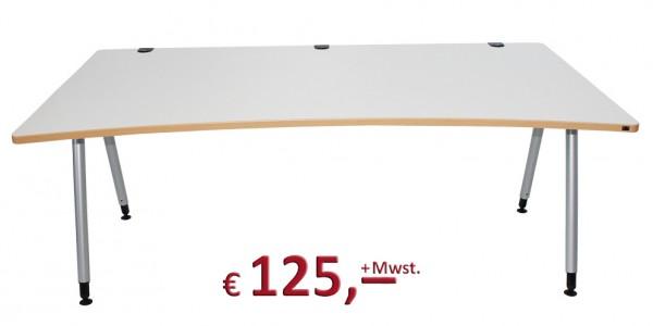 Schreibtisch - höhenverstellbar - teilweise Neuware - Kabalkanal - König & Neurath