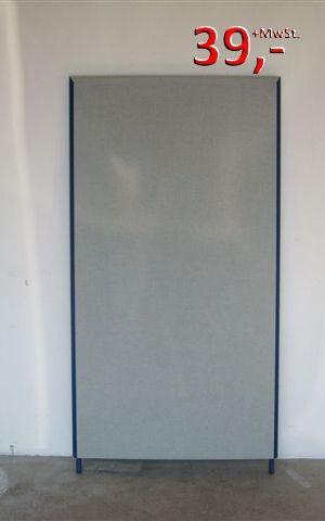 Trennwände 150 x 40 cm - grau/blau - Preform