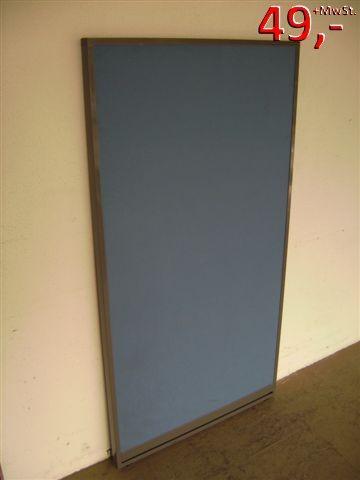 Trennwand - 150 x 80 cm - blau