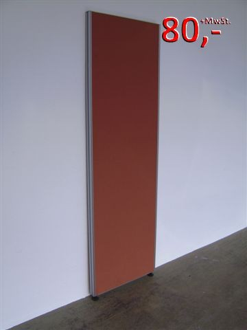 Trennwand / Funktionswand - 191 x 60 cm, Terracotta - VS