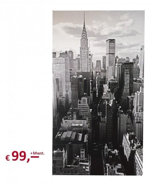 Kare Design - Bild New York Building - 100 x 180 x 4 cm