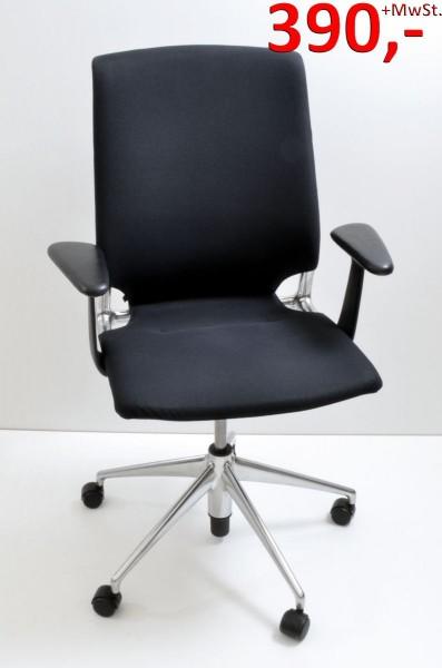 Drehstuhl Meda Chair - schwarz - Vitra