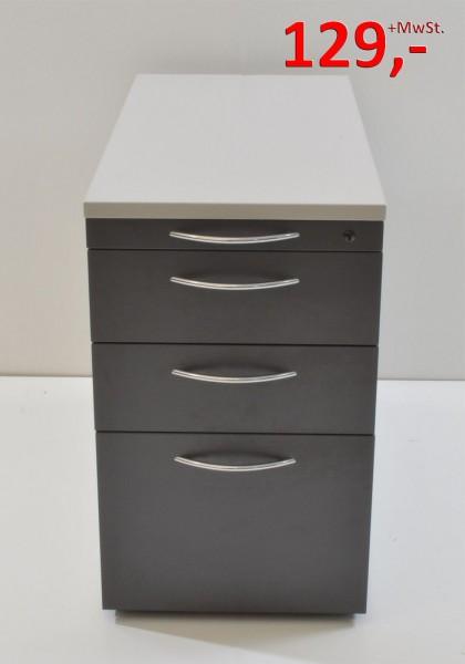 Standcontainer - 2 Schubladen, 1 HR-Schublade - anthrazit, lichtgrau - Vario