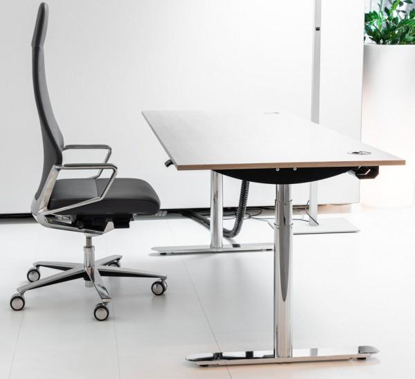 Bosse - Schreibtisch - M2 Desk - 180 x 80 cm - elektrisch höhenvertellbar - Dekor: Furnier Eiche
