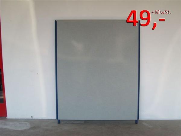 Trennwände von Preform - 140 x 90 cm - grau/blau