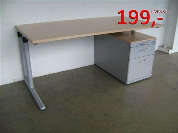 Schreibtisch - 160 cm - Werndl