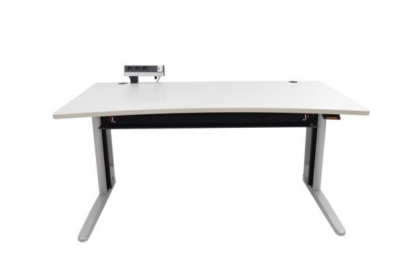 King Metra pneumatisch,Schreibtisch höhenverstellbar