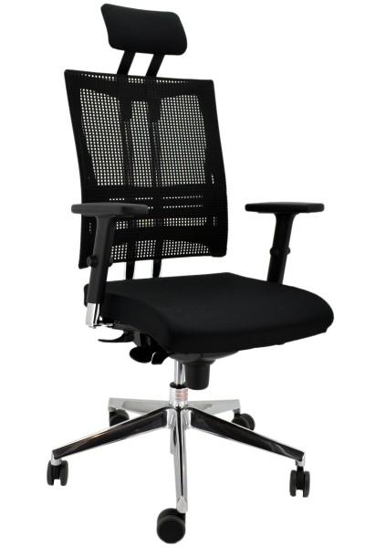 REDUZIERT! Testsieger sofort verfügbar! Drehstuhl Net Motion - schwarz - Nowy Styl