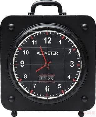 """Kare Design - Altimeter Square - Tisch Uhr - im """"Höhenmesser Look"""""""